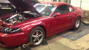 03 2v Mustang 76mm turbo 18#s of boost 660rwhp on mustang d - YouTube