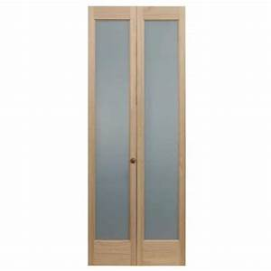 pinecroft 32 in x 80 in full frosted glass pine interior With 30 inch frosted glass interior door