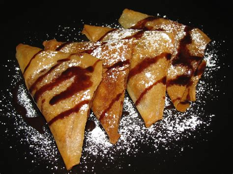 fried bananas passion on the stove top fried banana triangles