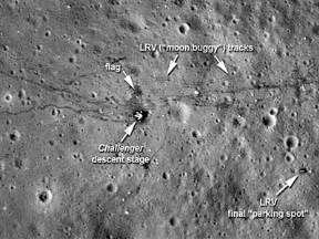 Apollo 13 Landing On The Moon - Pics about space