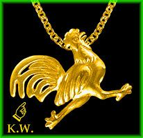 rooster ls key west pendants charms and pins designs 169 2004 whitfield