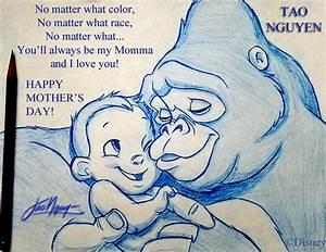 ArtStation - Tao Nguyen's Mother's Day Tarzan Sketch ...