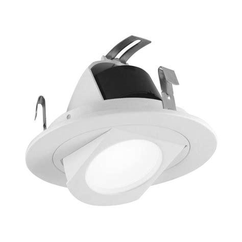 nicor lighting 4 in white retractable wall wash