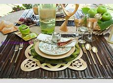 Jewish Holiday Table Setting Showcase on the Shore for a