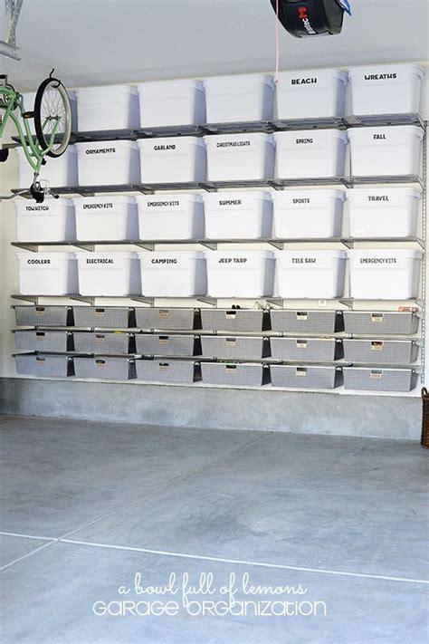 Garage Organization How To by 15 Ideas To Organize Your Garage Organizing Garage