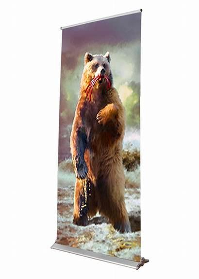 Bear Daniel Banner Retractable Banners