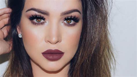 plum vibes makeup tutorial youtube