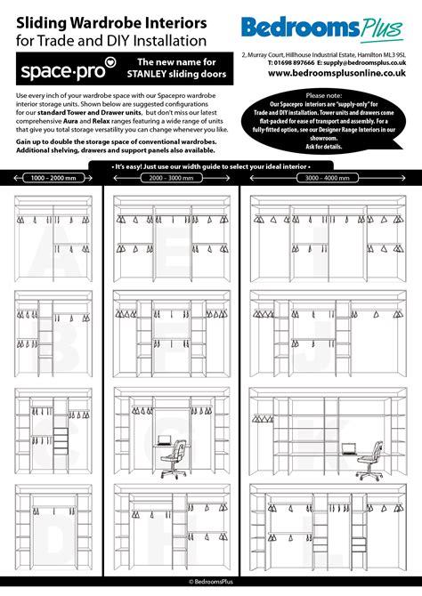 configuration bureau standard size sliding wardrobe doors jacobhursh