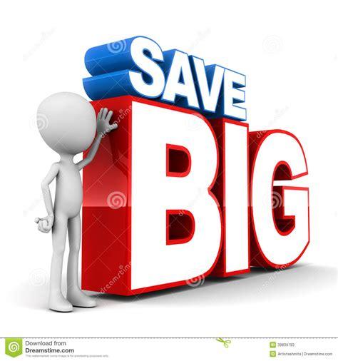 Buy Bid Save Big Stock Illustration Image Of Mammoth Amount