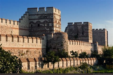 the siege of constantinople the walls of constantinople in istanbul turkey hotel