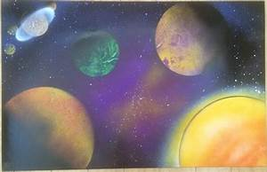 Spray-Paint Solar System (page 2) - Pics about space