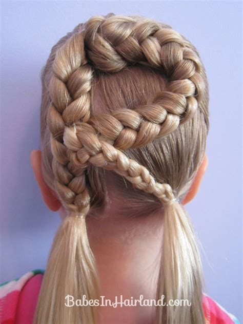 Braided Hairstyles And Creative by This Creative Braided S Hair In Every