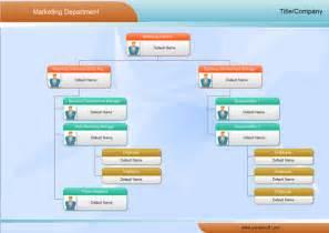 Marketing Organization Chart Example