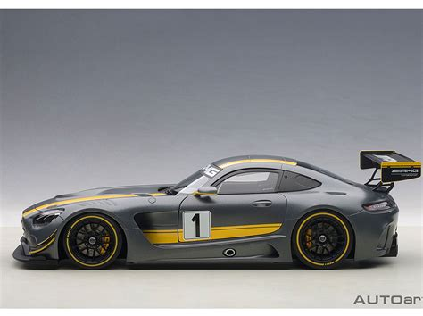 Die Cast Autoarts Mercedes Amg Gt3 Savage On Wheels