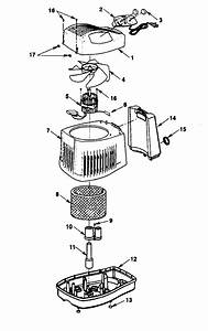 Kenmore Model 758144108 Humidifier Genuine Parts