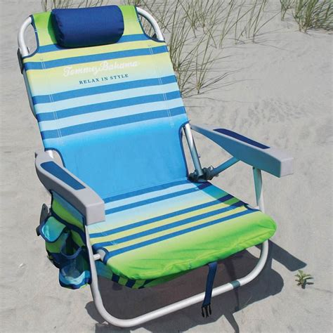 tommy bahama backpack chair folding for beach park