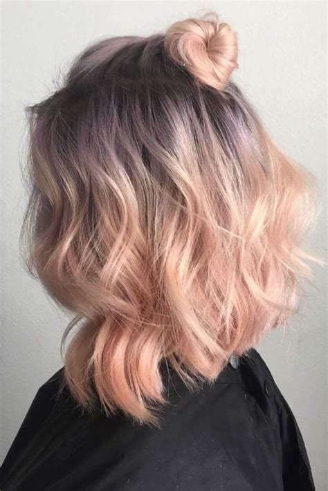 And Coloured Hairstyles by 27 Pretty Shoulder Length Hair Styles Pastel Hair Color