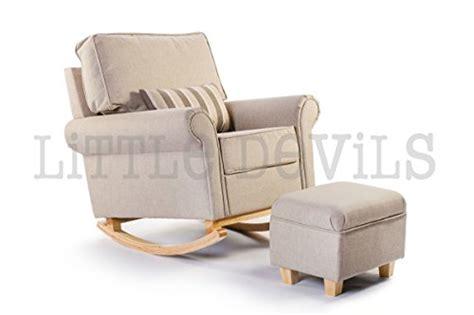 The New Cream/beige Hush Hush Rocking/nursing/glider Chair