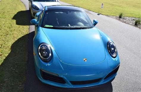 blue porsche 2017 2017 porsche 911 carrera s first drive in miami blue