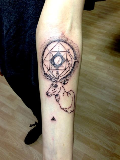 triangle tattoo  tumblr