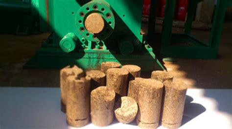 studies  materials  pressing fuel briquettes