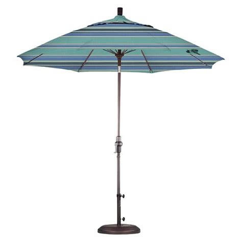 9 aluminum collar tilt patio umbrella spa target