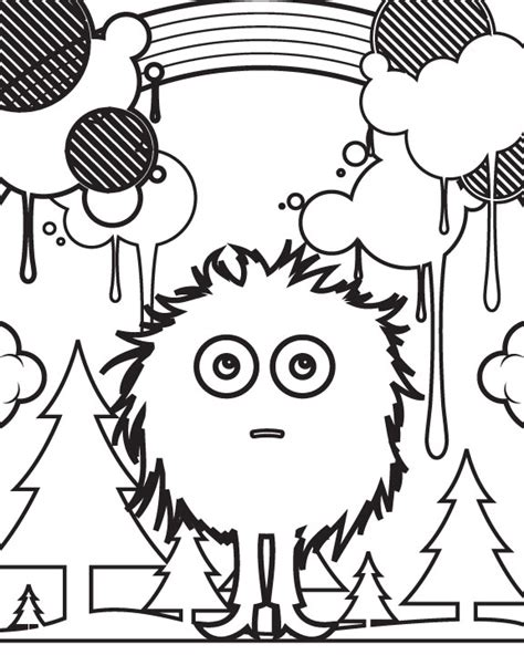 create  coloring book  photoshop