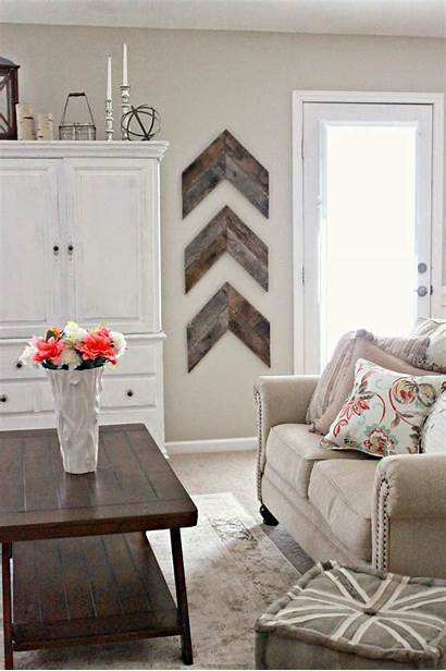 Wall Rustic Decor Wood Simple Reclaimed Chic