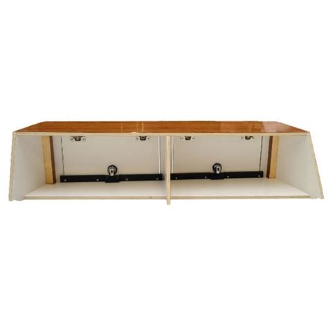 Scout Boats Wood by Scout 262 Abaco Woodgrain Boat Galley Hatch Cabinet