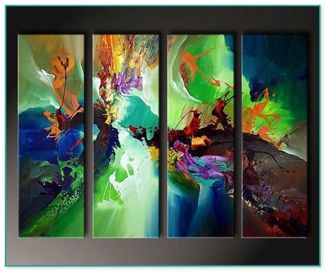 gemälde an der wand moderne kunst gem 228 lde kaufen