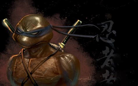 Anime Swordsman Wallpaper - tmnt leonardo wallpaper wallpapersafari