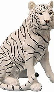 Amazon.com: DWK Ishtar Large White Tiger Figurine Statue ...