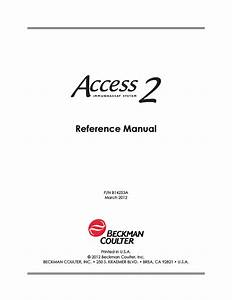 Access 2 Reference Manual March 2012 Pdf Download