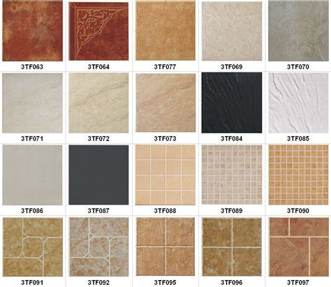 Outdoor Villa Glazed Porcelain Tile Orange Color Ceramic