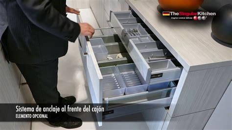 soluciones  gavetas en muebles de cocina youtube