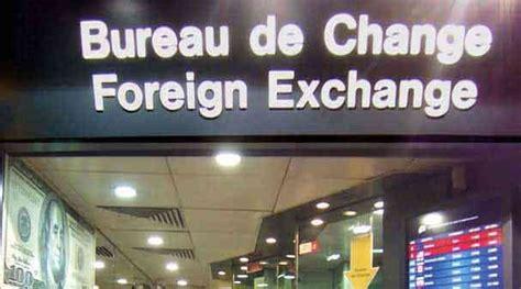 où changer vos devises banque bureau de change en