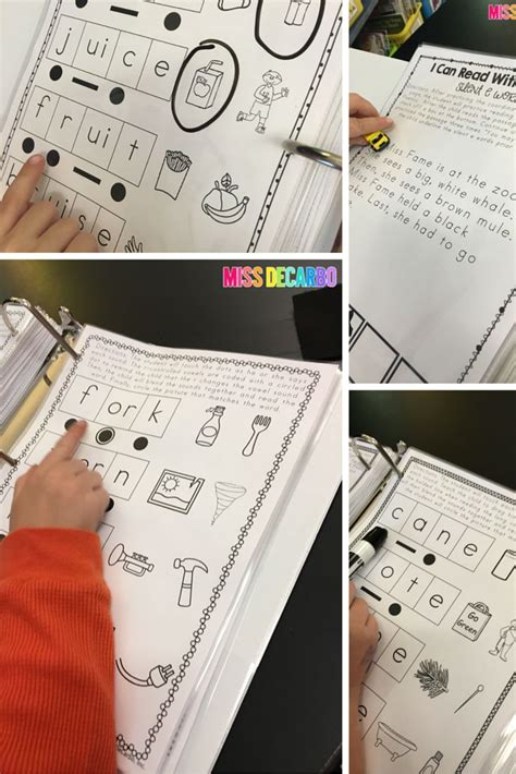 Fluency Passages with Long Vowels