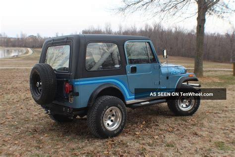 jeep cj renegade 1986 jeep cj cj7 renegade wrangler cj 7 like laredo