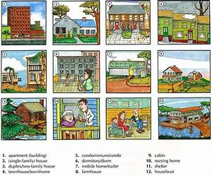 Learning The Vocabulary For The Different Types Of Housing