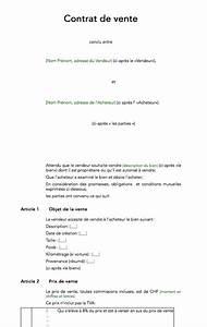 Contrat De Vente Voiture : contra de vente ~ Medecine-chirurgie-esthetiques.com Avis de Voitures