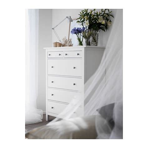 ikea hemnes dresser 6 drawer white hemnes chest of 6 drawers white stain 108x130 cm ikea