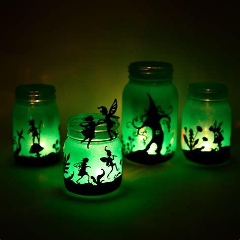 jar lanterns fairyland lanterns printable silhouettes adventure in a box