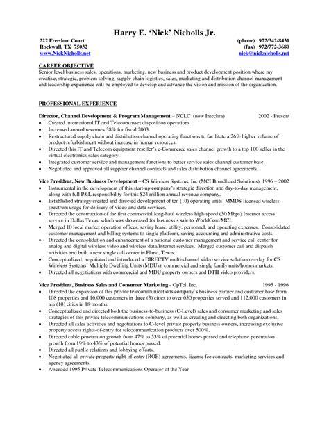 Procurement And Supply Chain Management Resume Sles by Best Photos Of Career Development Objectives Exles Career Objective Exles Sle Career