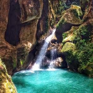 Beautiful Waterfall Haiti