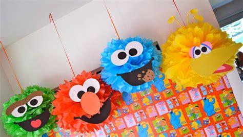 sesame street decorations  kids bedroom