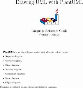 Plantuml Language Reference Guide Plant Uml