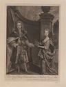 Bowles, John : Mercers Hall, Cheapside. - Their Royal ...