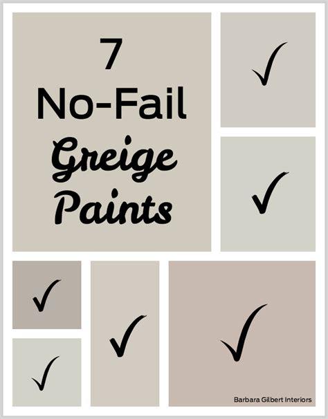 best greige paint color 7 no fail greige paints