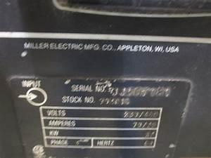 Miller Deltaweld 451 Constant Voltage Dc Welding Power