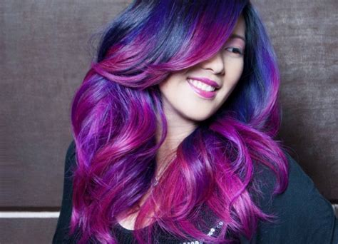 Rainbow Ombre Mermaid Inspired Hair The Fashion Supernova